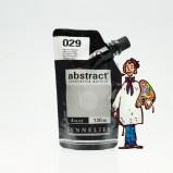ACRÍLICO ABSTRACT- 120 ML -  PLATA IRIDISCENTE 029