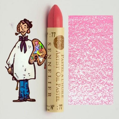 Pastel al óleo Sennelier laca de garanza rosa palida 077. Oil Pastel