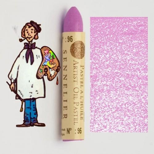 Pastel al óleo Sennelier violeta cobalto claro(tono)095. Oil