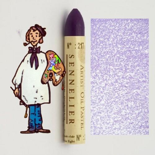 Pastel al óleo Sennelier violeta cobalto claro 217. Oil Past