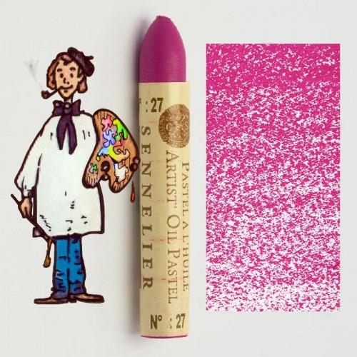 Pastel al óleo Sennelier purpura 027. Oil Pastel