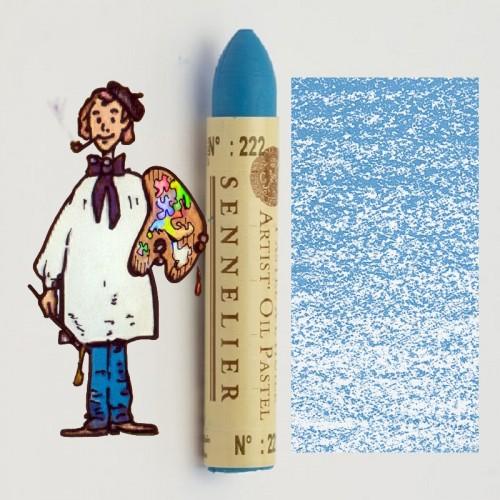 Pastel al óleo Sennelier azul inglés 222. Oil Pastel