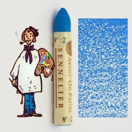Pastel al óleo Sennelier azul azul 002. Oil Pastel