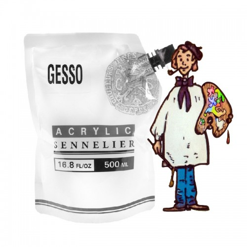 Gesso  abstract sennelier bolsa 500ml
