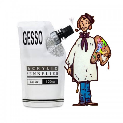Gesso  abstract sennelier bolsa 120ml