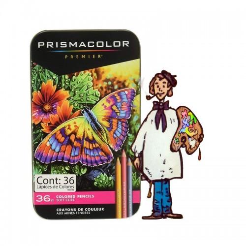 Caja metálica 36lápices de color PrismacolorPremier