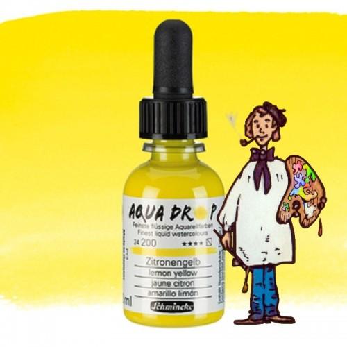 Acuarela líquida AQUA DROP 30ml - 200 amarillo limón