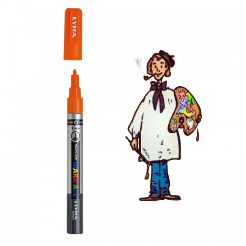 Lyra Graduate Mark All 1,0mm – 013 naranja