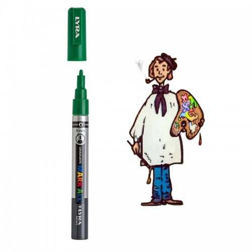 Lyra Graduate Mark All 1,0mm – 067 verde savia