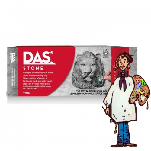 Pasta para modelar DAS Stone Efecto Piedra 1 Kg.