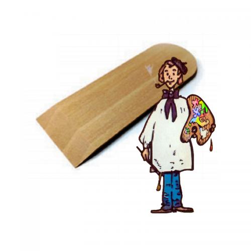 Espátula de madera Artools - 153mm x 53mm x 4mm