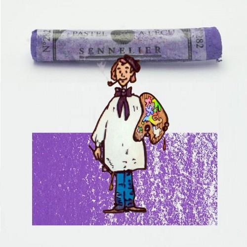 Pastel à l'écu púrpura azulado nº 282 Pastel à l'écu