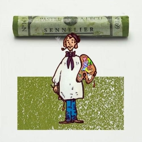 Pastel à l'écu gris verde musgo nº 169 Pastel à l'écu