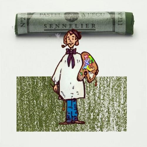 Pastel à l'écu gris verde clavelina nº 211 Pastel à l'écu