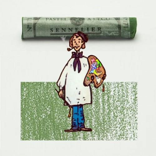 Pastel à l'écu gris verde musgo nº 171 Pastel à l'écu