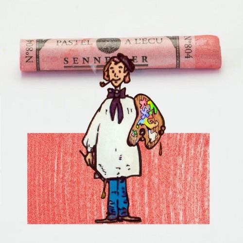 Pastel à l'écu iridiscente carmín nº 804 Pastel à l'écu