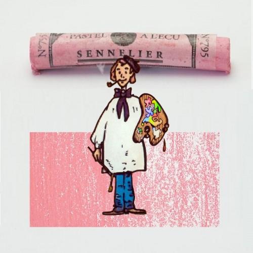 Pastel à l'écu bermellón de china nº 795 Pastel à l'écu
