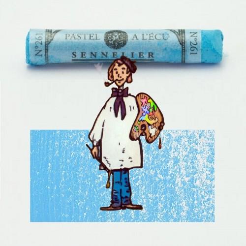 Pastel à l'écu azul cerúleo nº 261 Pastel à l'écu