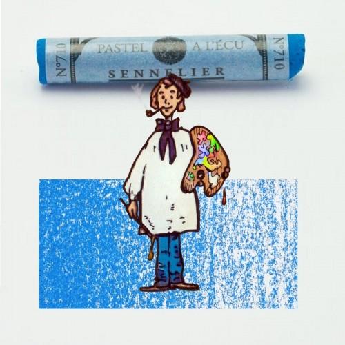 Pastel à l'écu azul acero nº 710 Pastel à l'écu