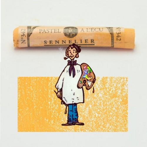 Pastel à l'écu amarillo brillante nº 342 Pastel à l'écu