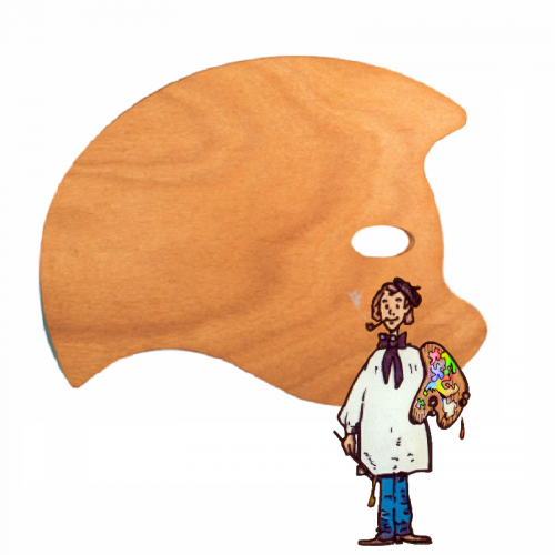 Paleta de haya Murcielago profesional Mabef 49x37 cm