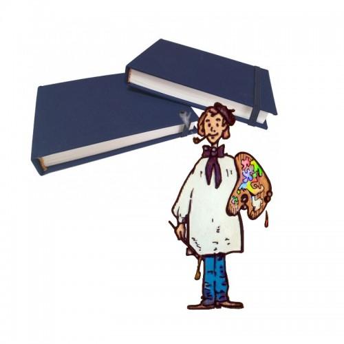 Watercolor Artist Book 40 hojas 240 gr. 20% algodón.
