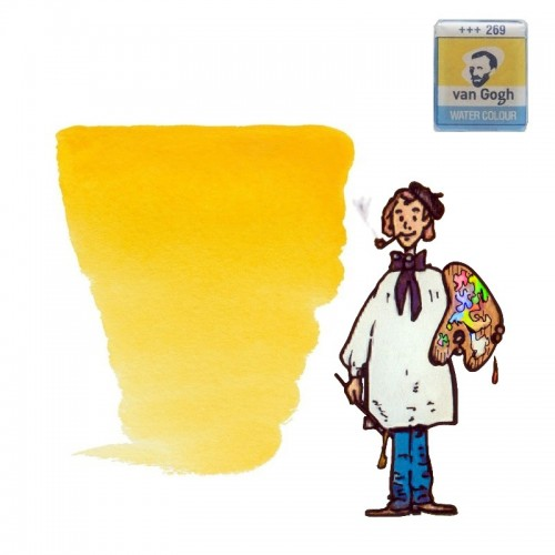 Acuarela Van Gogh, godet - amarillo azo medio 269