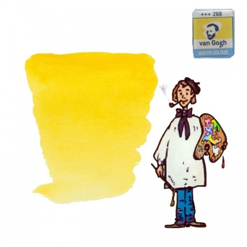 Acuarela Van Gogh, godet - amarillo azo claro 268