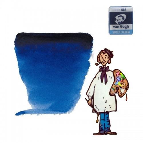 Acuarela Van Gogh, godet - azul de prusia 508