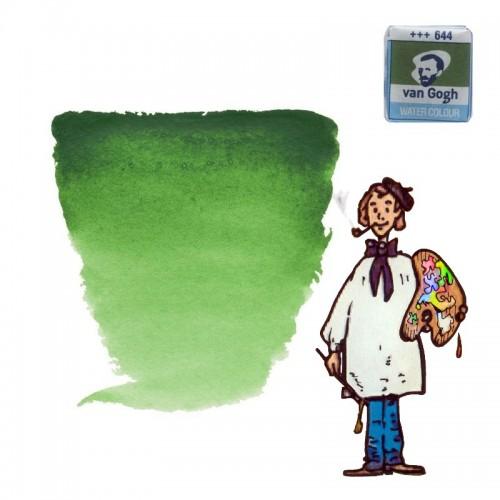 Acuarela Van Gogh, godet - verde hooker claro 644