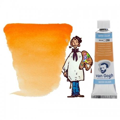 Acuarela Van Gogh, tubo - anaranjado permanente 266