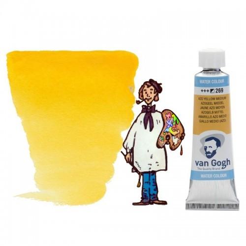 Acuarela Van Gogh, tubo - amarillo azo medio 269