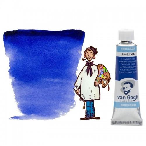Acuarela Van Gogh, tubo - azul ultramar oscuro 506