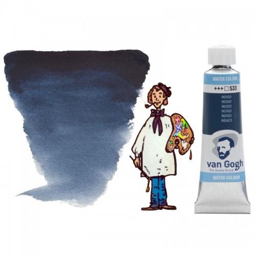 Acuarela Van Gogh, tubo - azul indigo 533