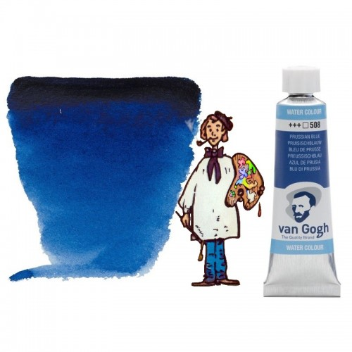 Acuarela Van Gogh, tubo - azul de Prusia 508