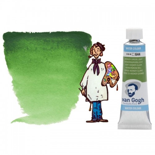 Acuarela Van Gogh, tubo - verde Hooker claro 644