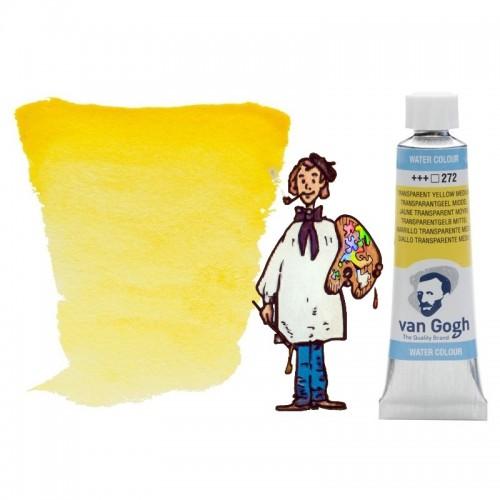 Acuarela Van Gogh, tubo - amarillo tran medio 272