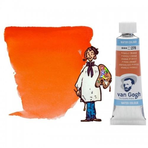 Acuarela Van Gogh, tubo - anaranjado pyrrole