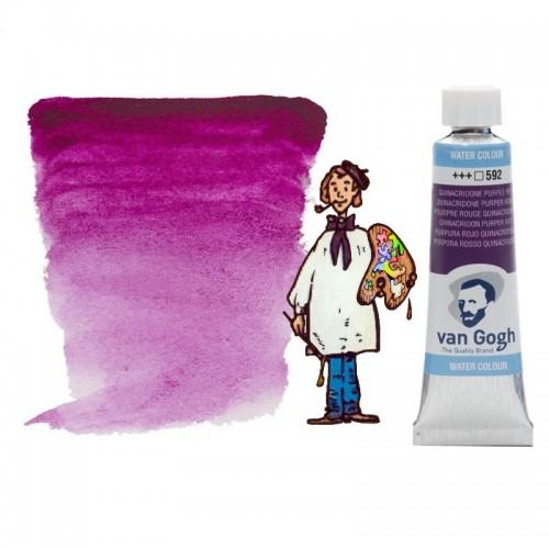 Acuarela Van Gogh, tubo - purpura rojo quinacridona 592
