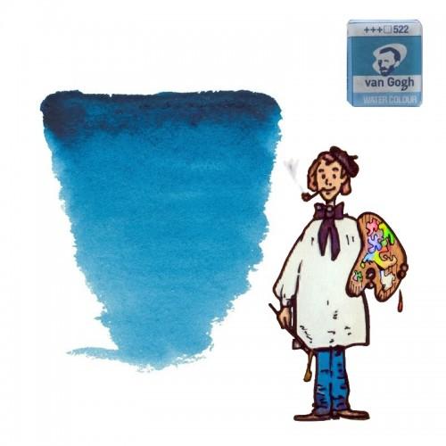 Acuarela Van Gogh, Godet - Azul Turquesa 522