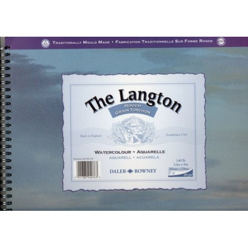 The Langton spiral 23x30,5cm grano grueso.
