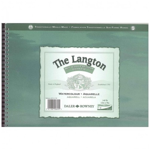 The Langton spiral 23x30,5cm grano fino.