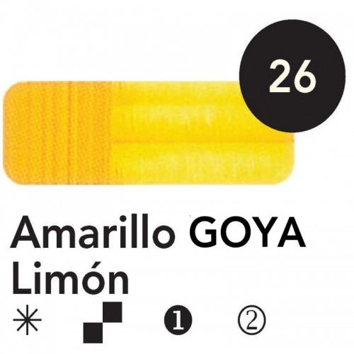 Óleo Goya 200 ml.  Amarillo Goya Limón 26