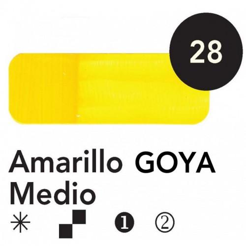 Óleo Goya 200 ml.  Amarillo Goya Medio 28