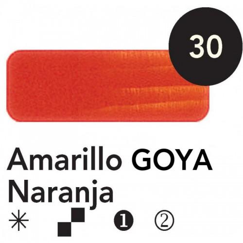Óleo Goya 200 ml.  Amarillo Golla Naranja 30