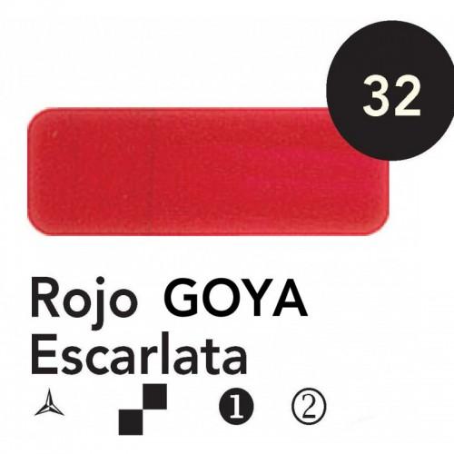 Óleo Goya 200 ml.  Rojo Goya Escarlata 32