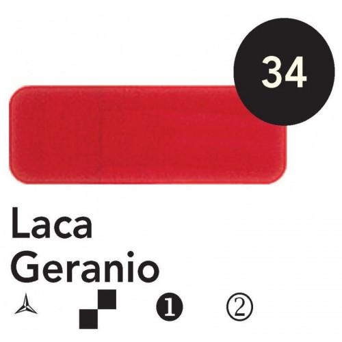 Óleo Goya 200 ml.  Laca Geranio 34