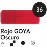 Óleo Goya 200 ml.  Rojo Goya Oscuro 36