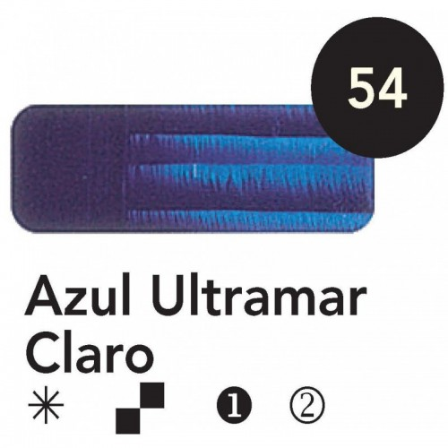 Óleo Goya 200 ml.  Azul Ultramar  Claro 54