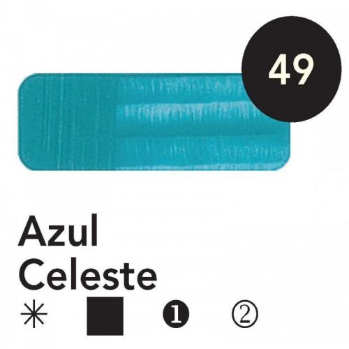 Óleo Goya 200 ml.  Azul Celeste 49